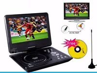 Portable DVD Player in Car or Home Like as New (Swivel Screen Remote Control)
