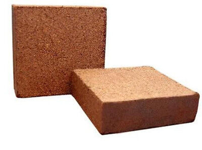 - COCONUT COIR coco fiber peat Cactus media cacti hydroponic soil brick 25 kg 55LB