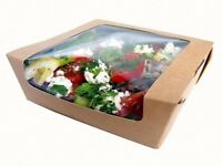 New food packaging for sale - small catering business closing down, ideal for deli or catering use