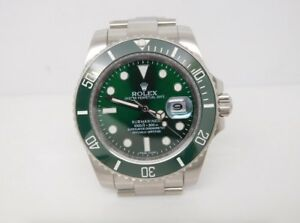 Rolex Submariner Green 2018