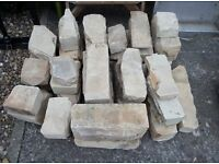Random Stone for building or Rockery Use 1/5 Tonne Approx