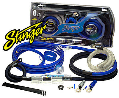 Sk6201 Stinger 1/0 Gauge 6000 Amp Wire Power Amplifier Installation Kit Sk-6201 on sale