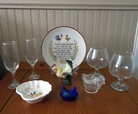 Collection of Vintage Rooster Themed Items