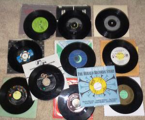 45 rpm Vinyl Records  Rod Stewart Sheena Easton Eagles Belous