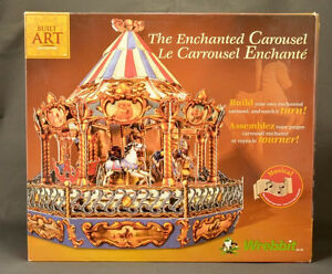 Wrebbit the Enchanted Carousel KIT By Built Art Collect-NEW