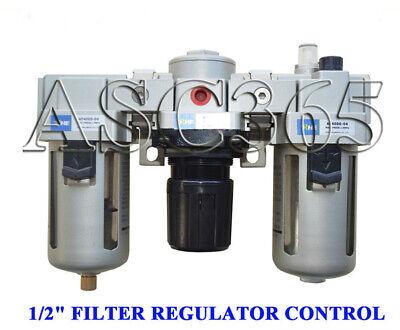 Trap Oiler Lubricator Filter Regulator Control 12 Air Compressor Moisture Tool
