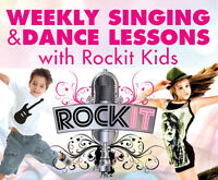 Kids singing and dance lessons