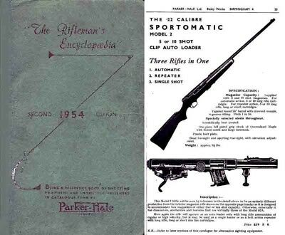 Sporting Goods Vintage Parkerhale The Riflemans Encyclopiedia No 65 Export Edition Hunting Accessories