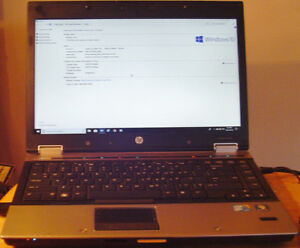 HP Elitebook 2.8 GHZ i7 6 Gigs DDR3 SSD HDMI Laptop
