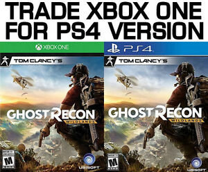 TRADE XBOX ONE FOR PS4 Ghost Recon Wildlands