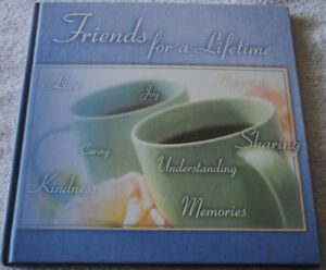 BOOK Friendship book for pictures and notes ~~ NEW