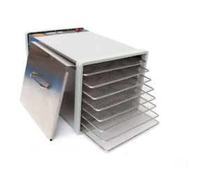 NEW IN BOX Professional 8 Tray Stainless Steel Food Dehydrator