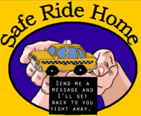 Safe ride home day or night....