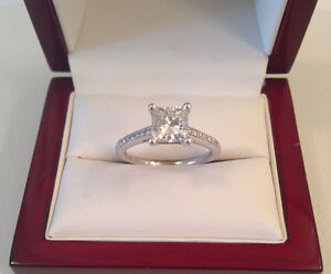 SAVE$ 8,520 1.13TCW GIA Centre 1.01ct, SI1,H Brand New Condition