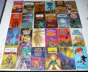 Andre Norton - Set of 71 vintage sci/fi  by one of the best