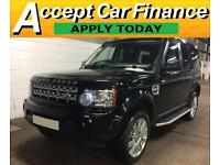 Land Rover Discovery 4 FROM £147 PER WEEK!
