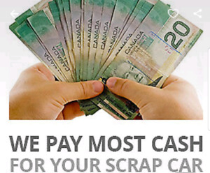 USED CARS, JUNK, SCRAP, RUNNING OR NOT..CASH PAY, FREE QUOTE/TOW