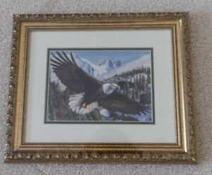 New American Eagle Framed Print by Govinda Gallery