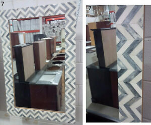 BEAUTIFUL MIRRORS - VARIETY OF FLOOR MODELS - CLEARANCE SALE !!
