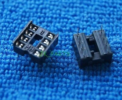 60 X New 8 Pin 8pin Ic Sockets Adaptor Solder Type