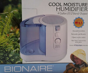 Bionaire Cool Moisture Humidifier BRAND NEW NEVER OPENED