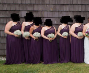 Plus sized prom or bridesmaid dress for sale