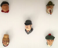 COLLECTIBLES - 5 BOSSON HEADS - GREAT FOR YOUR REC RM.