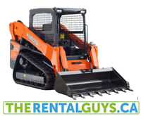 Kubota's, Bobcat's, Excavation Equipment FOR RENT !