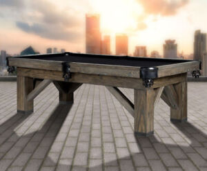 """New 1"""" Slate Billiard Tables, Shuffleboards and More - In Stock!"""