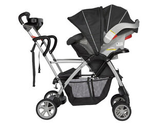 Graco double stroller and car seat
