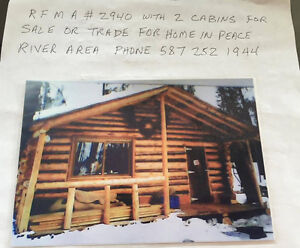 2 Cabin for Sale