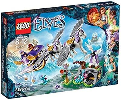 LEGO Elves Airas Pegasus Sleigh Fairy Dragon 41077 FACTORY SEALED 319 Pieces