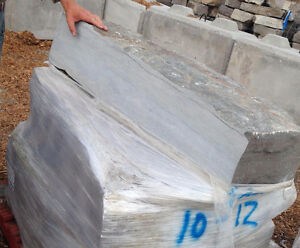 Sawn back armor stone: same length, half the weight! in Barrie