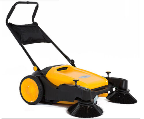 """Floor Sweeper Manual Push Cleaner Machine Cordless Powerless with Roll 39.5"""" (W)"""