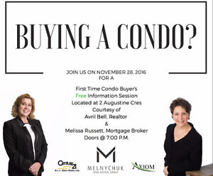 First Time Condo Buyer Information Session Strathcona County Edmonton Area image 1