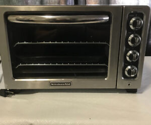 Kitchen aid toaster/convection oven
