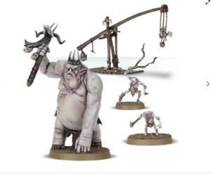 Goblin King & Retinue Warhammer Hobbit LOTR GW