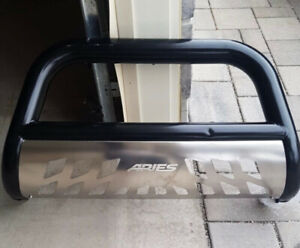 Black Bull Bar with stainless steel Aries Automotive B35-5005