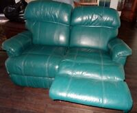 Lazy Boy Leather Recliner Loveseat