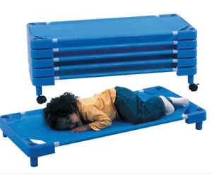 Stackable Daycare Cots