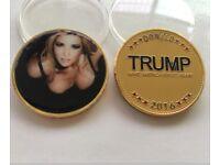 US Ivanka Trump Donald Sexy Coins Commemorative Collectibles Souvenir BADGE Coin