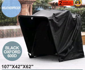 Motorcycle garage cover