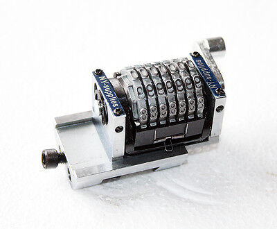 316 Flat Base Numbering Machine For Morgana - 7 Digit Straight Backward