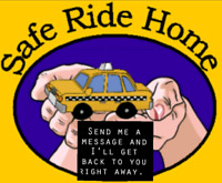 Safe ride home any where in Wpg at anytime....