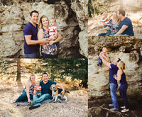 Calgary Family Photographer - $200 with digitals