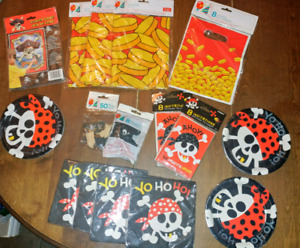 Pirate Party Kit (all Brand new)