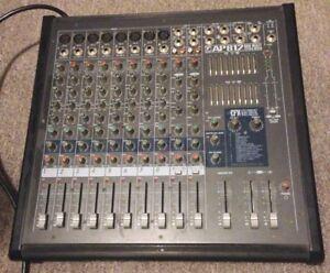 Sonorisation/éclairage (console, enceintes, contrôleur, lampes)