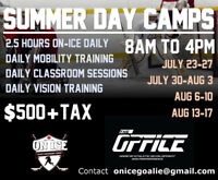 Summer Day Camps for Goalies