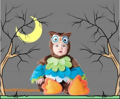 Night Owl Bird Animal Halloween Fancy Dress Costume Outfit Baby Girls Boys gifts