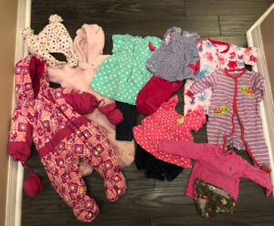 Baby and toddler girls clothes